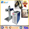 Mini máquina portable del cuero de la marca del CNC de la etiqueta de plástico del laser del CO2 de China