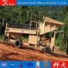 中国の金のトロンメルスクリーンの金の採鉱機械(KDTJ-100)