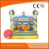 2017 populärer aufblasbarer gefrorener Prahler der Prinzessin-Jumping Bouncy Castle Inflatable (T1-405)