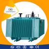 Transformateur électrique de distribution triphasée immergée dans l'huile