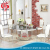 As vendas quentes vendem por atacado o jogo de mármore luxuoso da tabela de jantar para o banquete