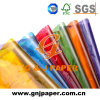 Qualitäts-volle Farben-transparentes Pergamin-Papier für die Verpackung