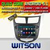 Coche DVD de la versión del androide 5.1 de Witson para Hyundai Verna (W2-F9553Y)