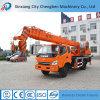 Guindaste hidráulico móvel de China do bom crescimento telescópico dos preços com o vário chassi do caminhão