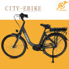 جديدة تصميم بيضاء [700ك] ألومنيوم رخيصة حدث تقليديّ [250و] مدينة درّاجة كهربائيّة