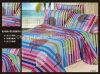 Folha ajustada poli/do algodão alta qualidade do laço da HOME de matéria têxtil do fundamento de base