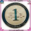 Nueva moneda 3D con color suave transparente del esmalte