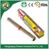 Papel de aluminio para la cocina y la utilización alimenticia