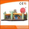 Riesiger aufblasbarer Spielplatz für Erwachsene und Kinder mit Plättchen (T6-303)
