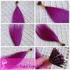 2013 beste verkaufenprodukte färbten Aufkleber-Haar-Extensionen (YM-W-112)