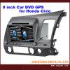 8 de Auto DVD van de duim voor Honda Civic/Juiste DrijfZaal (PK-HC800)