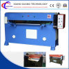 Máquina de corte têxtil hidráulico de quatro colunas 50t para fabricante de calçado / porta