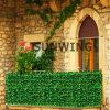 정원 인공적인 담 잎 플라스틱 합성 산울타리 회양목 매트