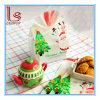 Hornada de la Navidad que empaqueta el bolso plano 100PCS/Bag de las galletas de la boca