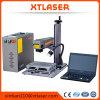 machine de gravure d'inscription de laser de fibre de 20W 30W pour des boucles en or, argent
