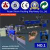 Doppia macchina di riciclaggio di plastica della scatola ingranaggi del barilotto del doppio della vite