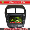 Reproductor de DVD del coche para el reproductor de DVD de Pure Android 4.4 Car con A9 CPU Capacitive Touch Screen GPS Bluetooth para Mitsubishi Asx (2010-2012) (AD-8023)