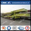 Standaard Semi Aanhangwagen 3axle Lowbed in Stapel
