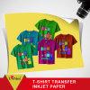 Papel de impressão da transferência térmica de grânulo de vidro, papel de transferência de Heatshirt