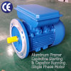 Motor da fase monofásica (0.75kW- 1HP, 230V/50Hz, 3000rpm, frame de alumínio B5)