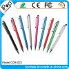 Penna a doppio scopo di cristallo dello stilo della penna di Bling del metallo per lo schermo di tocco