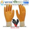 отделка перчаток нитрила раковины полиэфира 13G польностью покрытая (N1505) ровная с CE, En388, En420, перчатками работы