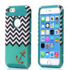 Защитный чехол Accessories TPU Case Chevron Anchor Cover Two-Layer мобильного телефона тонкий для iPhone6 и iPhone6 Plus