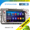 Carro DVD DAB+ GPS Bluetooth Android 5.1 de Erisin Es3009f 7 do  para Ford