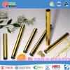 De gouden Gelaste Pijp van Roestvrij staal 304 met SGS Certificaat