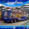 De dubbele Semi Aanhangwagen van het Dek van de Daling van de As, Ontwerp van de Aanhangwagen van 30 Ton het Lage Flatbed voor Verkoop
