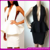 2015 Celebrity novo Designs Ladies Peplum Dress Bandage Bodycon Sexy Dress (b-96332)