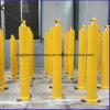 Cilindro hidráulico de 4 etapas para el carro de vaciado