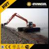 Excavatrice de Zy210SD-1 Pooton avec l'excavatrice amphibie de 3 chaînes