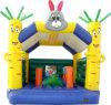 Kidsのための膨脹可能なHappy Rabbit Playhouse Bouncer