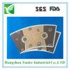 Papel biodegradable de encargo de la taza de la insignia el 100%