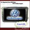 IcHEPA: 8 Zoll-VW spielen 5 Uhren der DVD Navigations-(HP-8311XE) e mit Finnland-Markierungsfahne Golf
