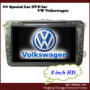 HEPA: Vw 8 дюймов Golf навигация 5 DVD (HP-8311XE)