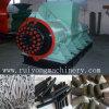 Mit hohem Ausschuss Holzkohle-Brikett-Strangpresßling-Maschinen-Kohle-Puder-verdrängenmaschinerie