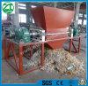 二重シャフトの固形廃棄物かプラスチックまたは泡または金属またはタイヤのシュレッダー