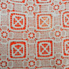 Водорастворимая ткань шнурка полиэфира платья (L5114)