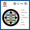 Cable de cinta al aire libre de la fibra de 72 bases para la comunicación Gydts