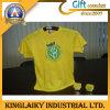 T-shirt rond occasionnel de cou avec du coton 100% pour le cadeau (KTS-003)