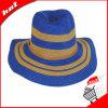 Sombrero de paja flojo del papel de la mujer de la manera