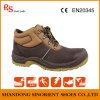 Sapatas de segurança Malaysia de Brown Snb114