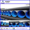 Dn300-800mm HDPE Corrugated Doble-Wall Pipe para Drainage