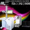 Machine de découpage de gravure d'inscription de laser en métal de fibre, matériel de laser