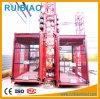 Grua de alta velocidade da construção da gaiola dobro (SC200/200TD)