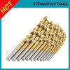 HSS Twist Drill Bits Ti Revêtement 1-13mm 6542