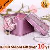 Firma-Geschenk-fördernder Kristall USB-Stock (YT-6263)