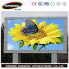 Pantalla de visualización publicitaria impermeable al aire libre a todo color de LED P10